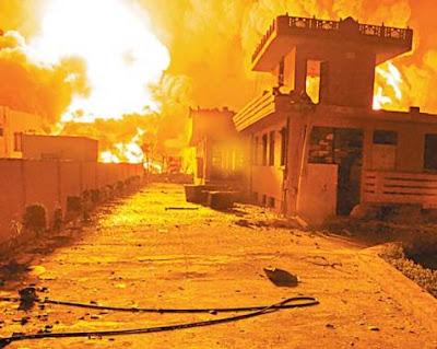 jaipur oil depot fire 2009