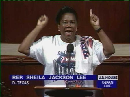 LLee also had this via Gateway Pundit: Dem Rep Sheila Jackson Lee Tells