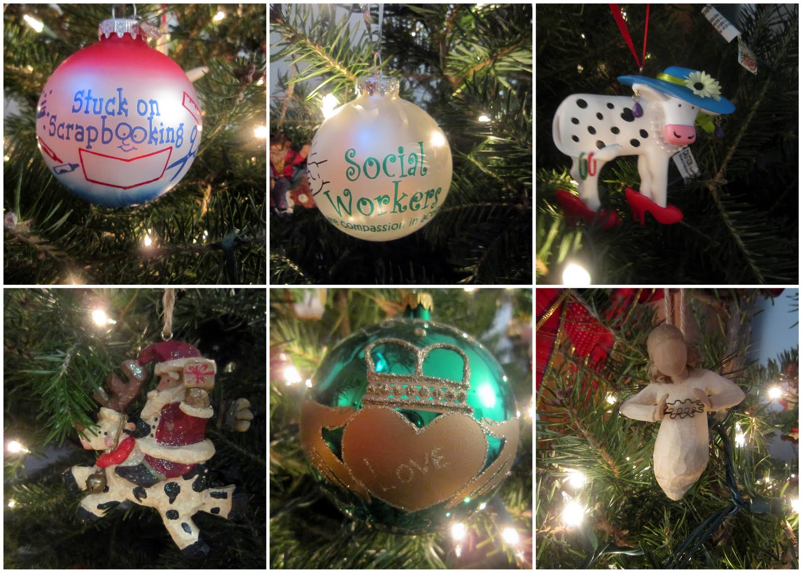 Career christmas ornaments - I Love Having A Real Tree Growing Up I Always Had A Fake Tree And I Still Remember My First Real Tree Once I Was Living On My Own