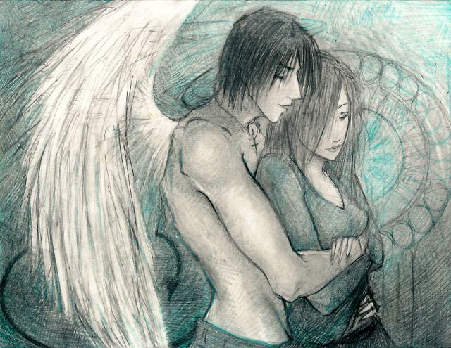 Dibujos De Amor Angel