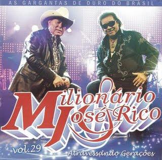 Milionario e José Rico - Vontade Dividida - MP3