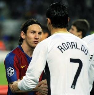 Lionel Messi and Cristiano