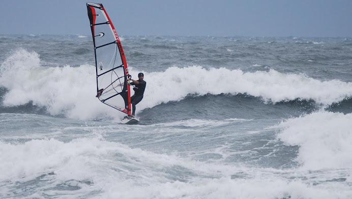 Wavesailing Assateague Style