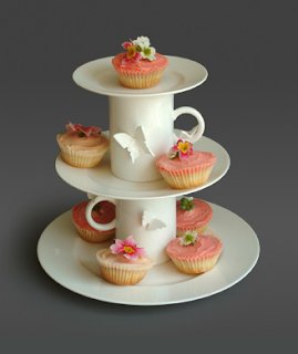 Cake stand by Polly George