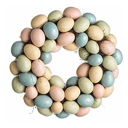 Speckled Easter Egg Wreath by Pier 1