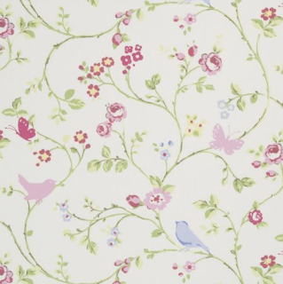 Bird trail fabric by Clarke & Clarke