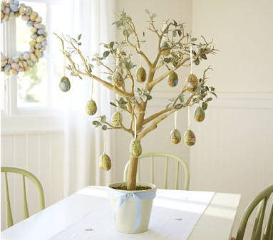 Easter tree by Pottery Barn Kids