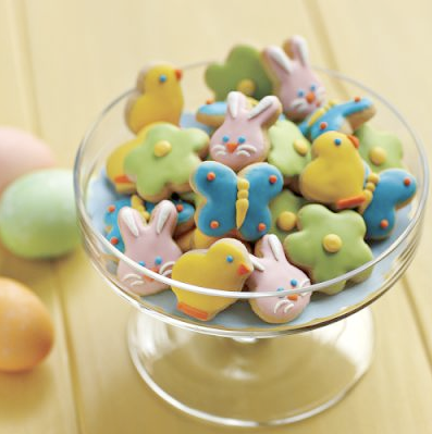 Mini Easter cookies by Williams Sonoma
