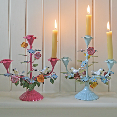 Bird candle holder by Berry Red