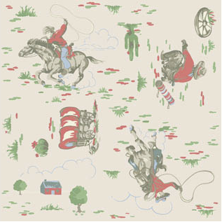 Cowboy natural Cath Kidston floor tiles by harveymaria