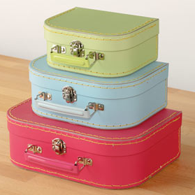 Mini suitcase set from Great Little Trading Company