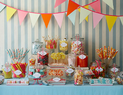 Amy Atlas candy table