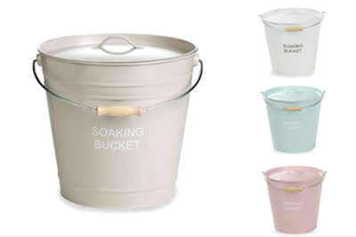 Steady sticks: soaking bucket