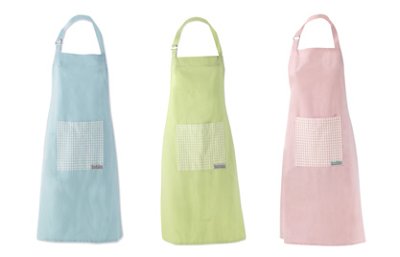Steady sticks: linen apron