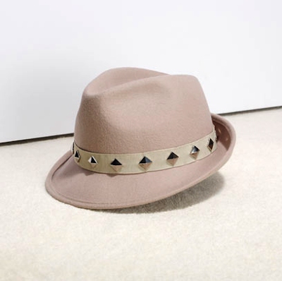 Studded trilby by Reiss