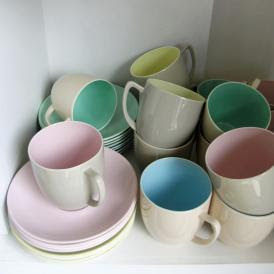 Branksome tea cups & saucers