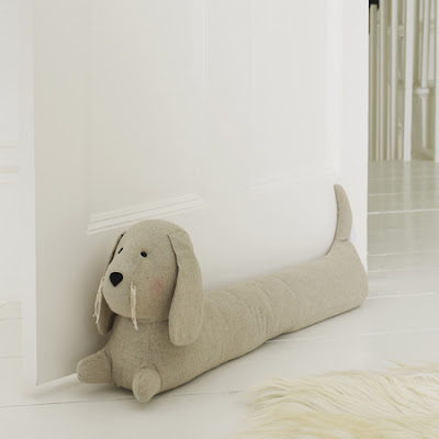 Dog draught excluder from Graham & Green