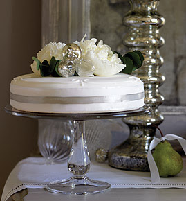 Handmade Glass Cake Stand by The White Company