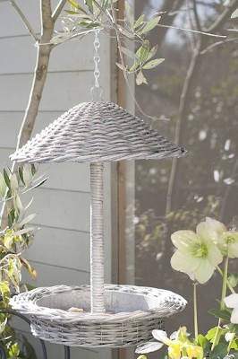 Zinc and Willow Bird Feeder by Really Linda Barker