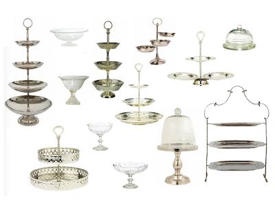 Cake stands by Lisbeth Dahl