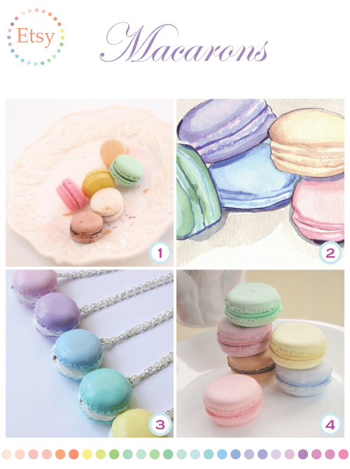 Macarons on Etsy by Torie Jayne