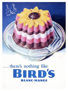 Birds Blancmange, 1940s by Vinmag.com