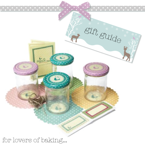 Pantry Design jam making set with jars
