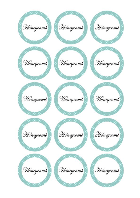 Honeycomb labels