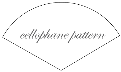 Cellophane pattern