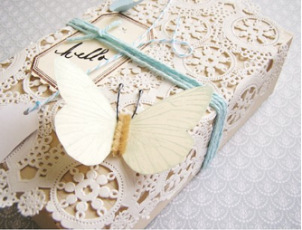 Pretty package by La Boheme blog