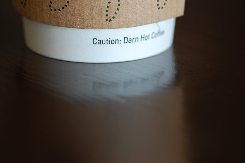 Darn Hot Coffee