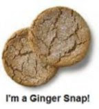 I&#39;m a Ginger Snap!