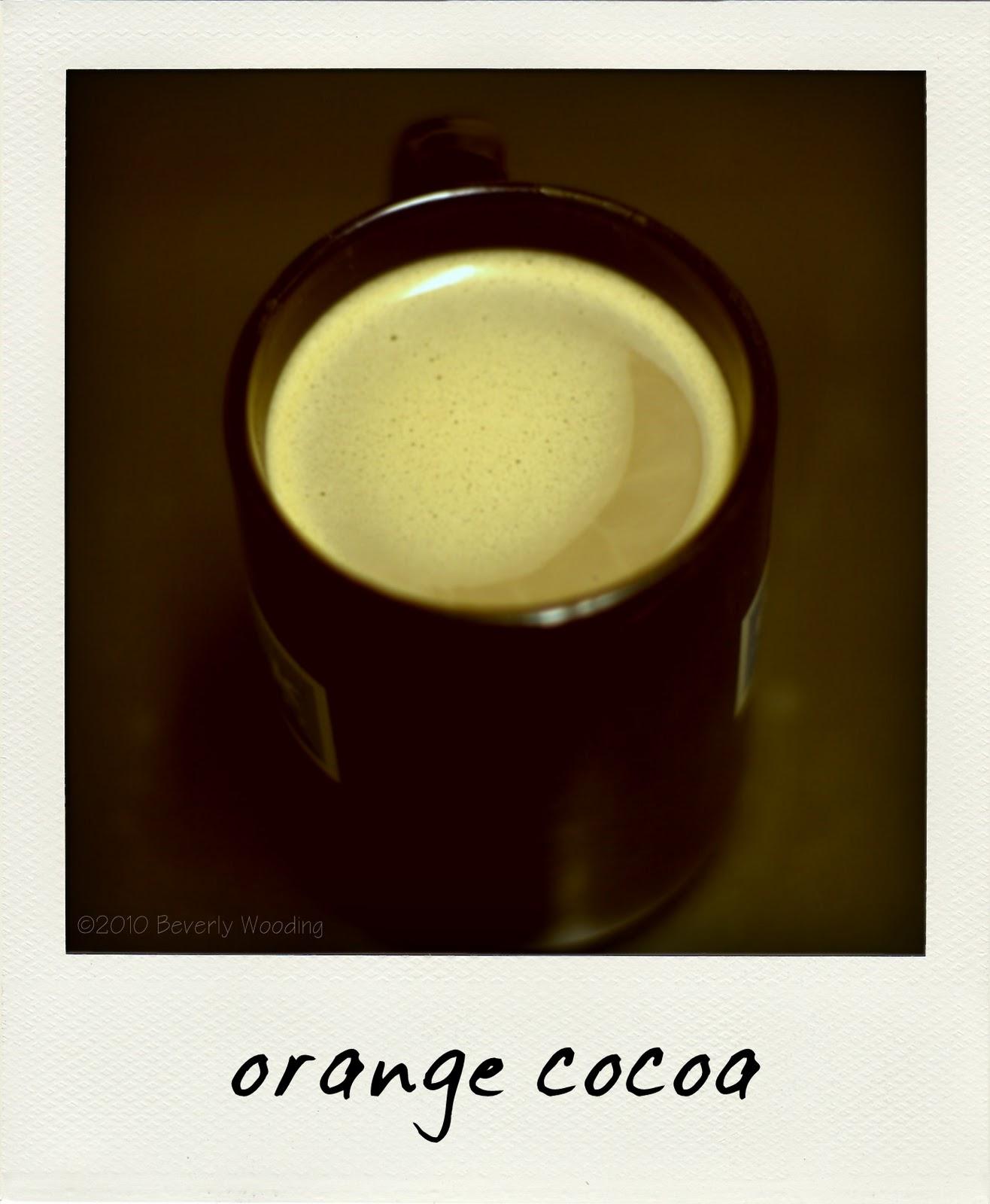 orange cocoa