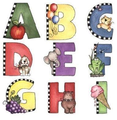 Amiga da educa o diversos arquivos para download de alfabeto 1 parte alfabetos lindos - Figuras decorativas grandes ...