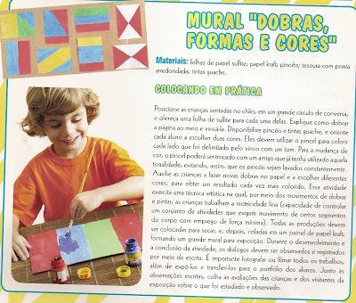 PROJETO+DOBRAS+CORES4 PROJETO DOBRAS, FORMAS E CORES DESENHAR E COLORIR. para crianças