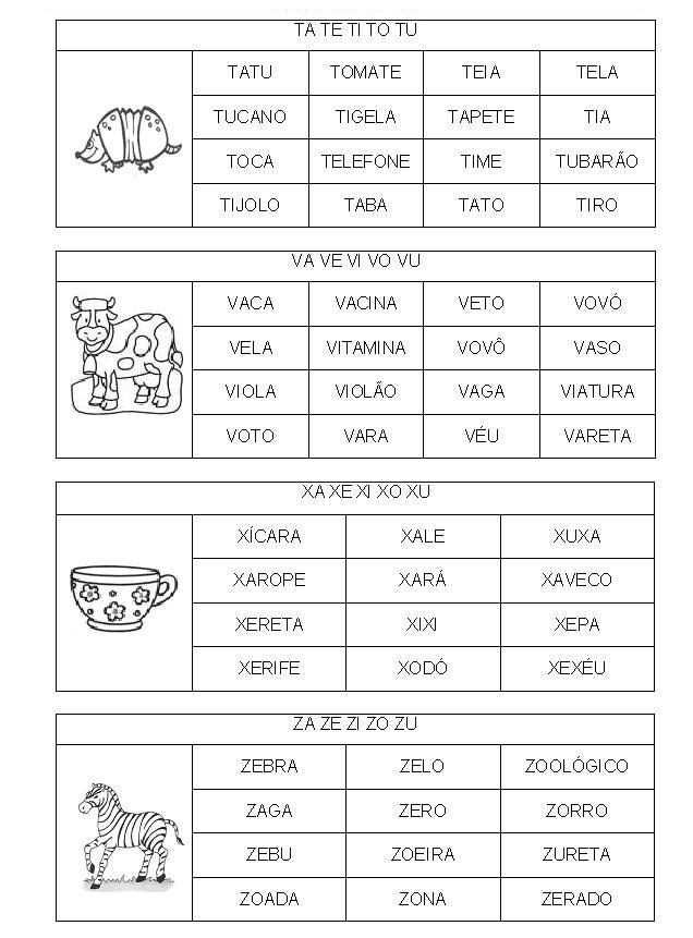 FICHAS DE LEITURA FAM  LIA SIL  BICA  MAIS PARA VOC  S