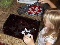 red jello jiggler stars