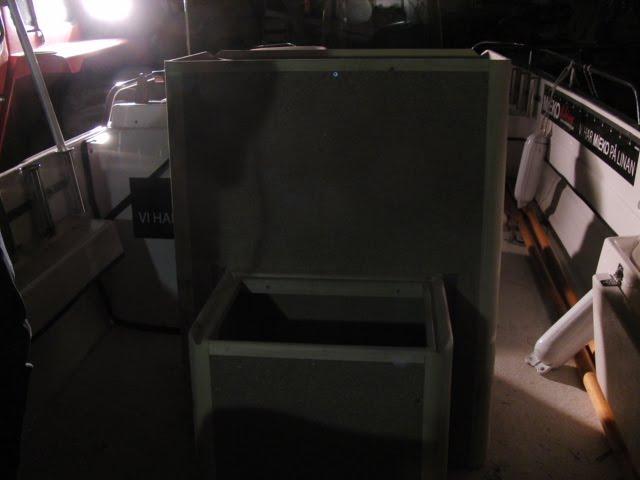 pulpet till båt ~ mieko fiskeblogg ny pulpet på båten