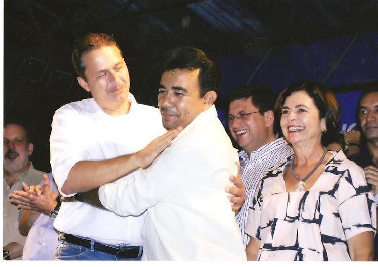 POETA ZE ADALBERTO COM GOVERNADOR EDUARDO
