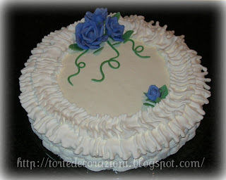 Torte e decorazioni compleanno di mio suocero for Decorazione a canestro