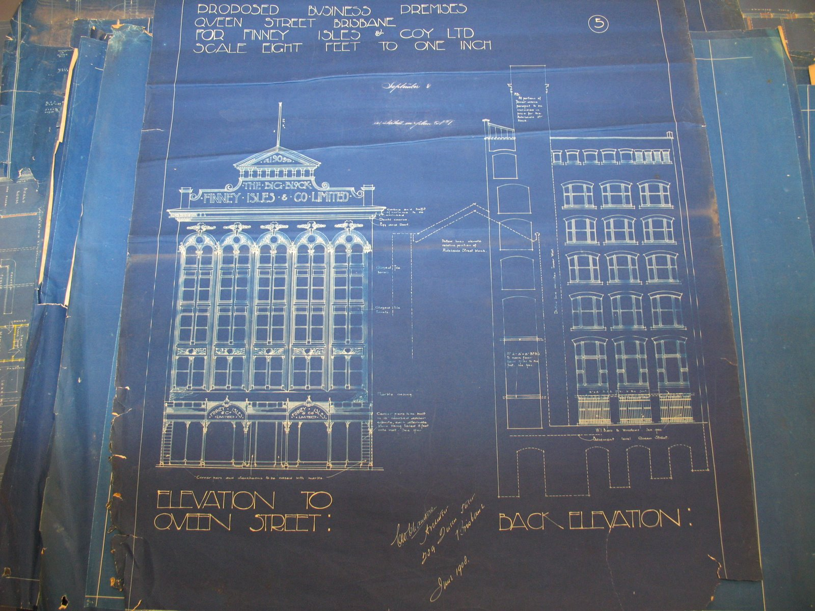 Historic photo of the day page 32 skyscrapercity for Famous building blueprints