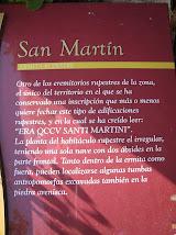 ERMITA RUPESTRE DE S. MARTÍN