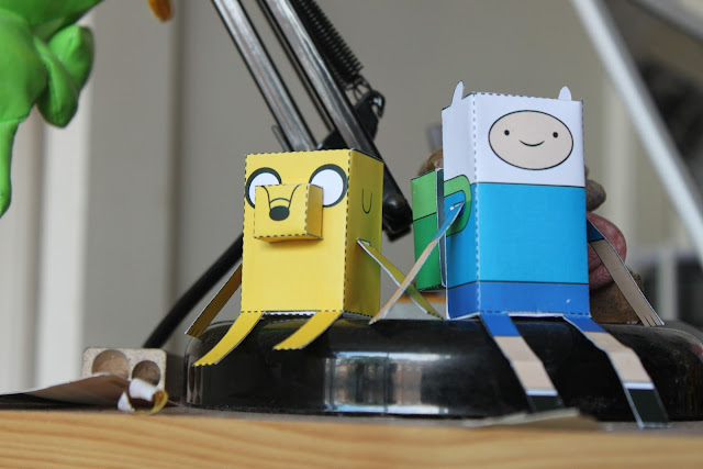 Cartoon Network Adventure Time Paper Crafts