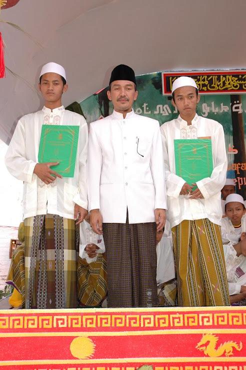 Saat wisuda Khatmil Qur'an Santri