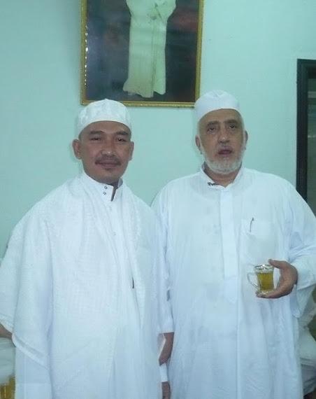 Bersama Sayyid Abbas bin Alwi bin Abbas