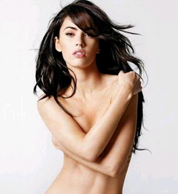 Celebrity News : Megan Fox Sports A Tiny Bikini Top On Cover Of GQ ...
