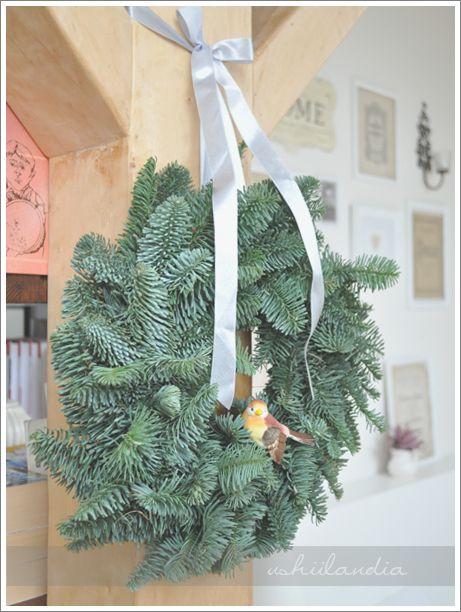 christmas wreath / świąteczny wianek