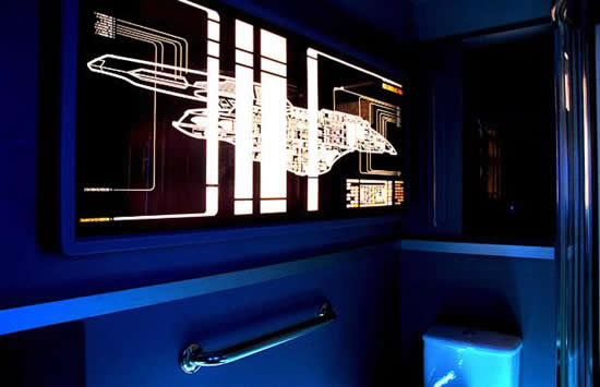 Cool Star Trek Apartment Seen On www.coolpicturegallery.us