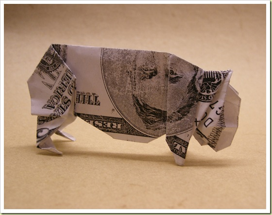 Boar Pig Penis http://www.zimbio.com/Money+Origami/articles/keZ-F2JKc04/Cool+Money+Origami+Pictures