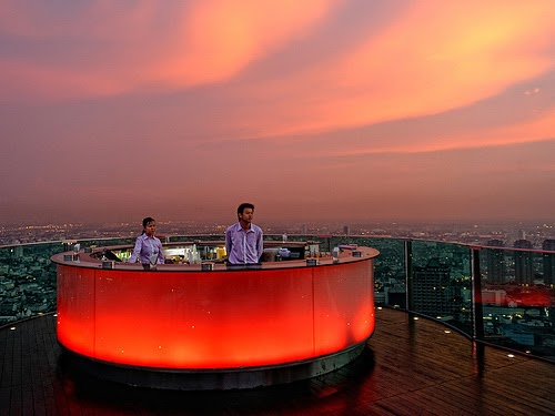10 Bars Around The World With The Best Views Travelphant